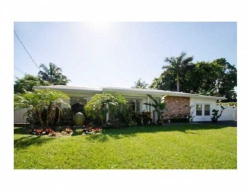 SOLD: Wilton Manors waterfront 3/2 home $399,000
