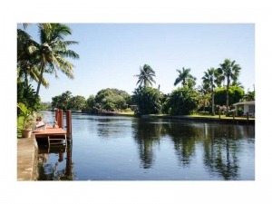 Waterfront home for sale Wilton Manors