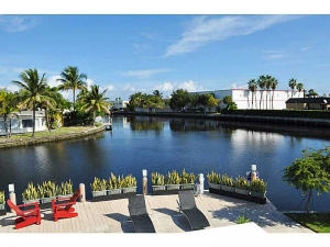 Waterfront homes in Wilton Manors