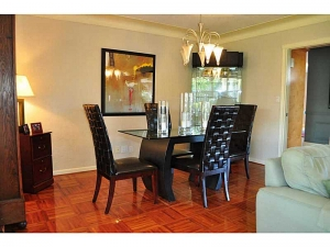 Dining room Wilton Manors home for sale