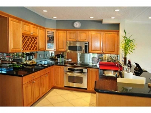 Kitchen in Wilton Manors home for sale