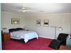 Bedroom in Wilton Manors home for sale