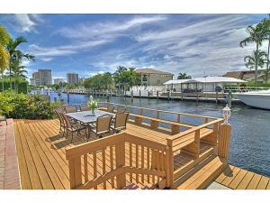 Waterfront view home for sale Fort Lauderdale