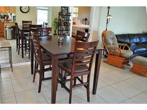 Dining room in Wilton Manors home
