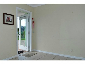 Front door of Wilton Manors home for sale