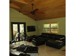 Living room in Wilton Manors home for sale