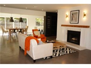 Living room Wilton Manors