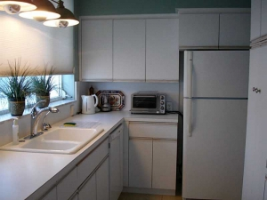 kitchen in Galt Ocean condo for sale