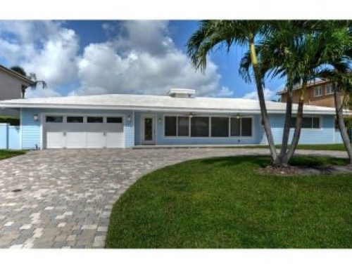 New Fort Lauderdale luxury waterfront home for sale $1,275,000.00