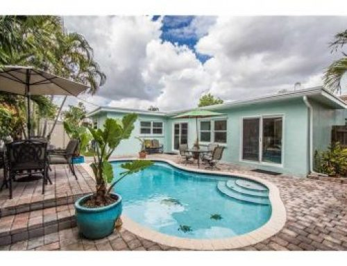 Sold in Oakland Park real estate market: Royal Palm Acres