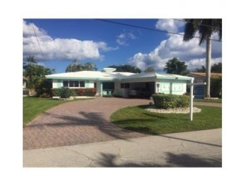 Large Wilton Manors waterfront home for sale only $590,000.00