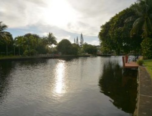 New listed Wilton Manors waterfront home for sale $499,900.00