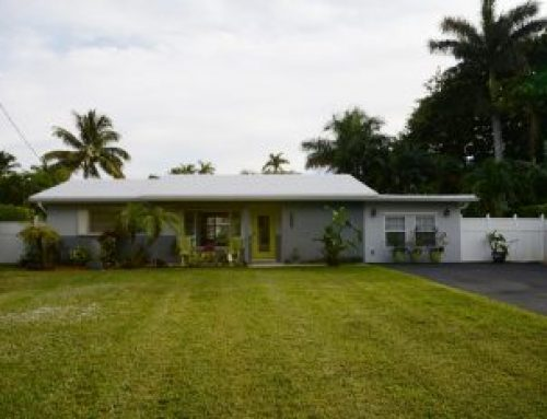 Waterfront Wilton Manors Open House Oct 29th reduced now $494,500