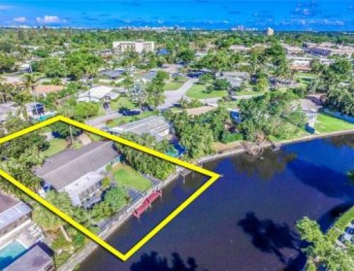 Wilton Manors waterfront open house $445,000