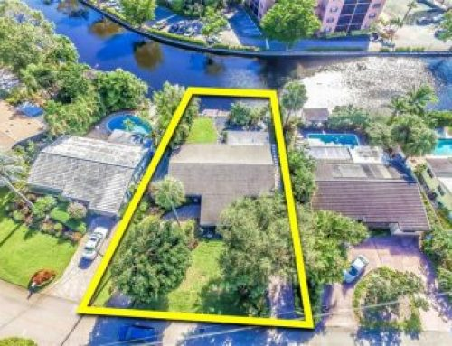 West Wilton Manors waterfront home for sale $445,000