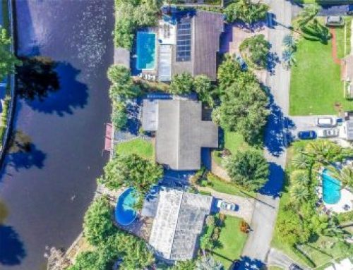 Wilton Manors waterfront bargain home for sale $445,000