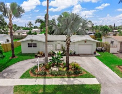 Sold Oakland Park Home  in Royal Palm Acres for $362,500.00