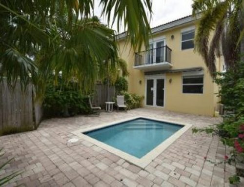 East Fort Lauderdale townhouse for sale $535,000