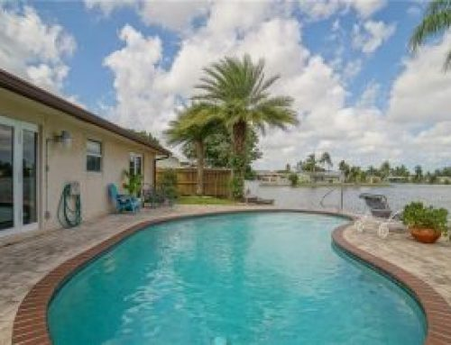 Royal Palm Lake Estates Lake Front home for sale $429,000