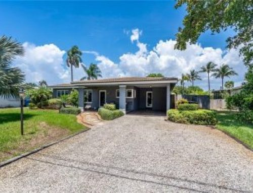 Oakland Park Coral Heights waterfront home for sale $499,999.00