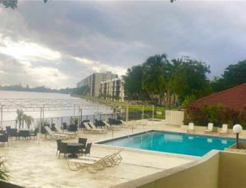 Oakland Park Lake Emerald condo for sale $164,000.00