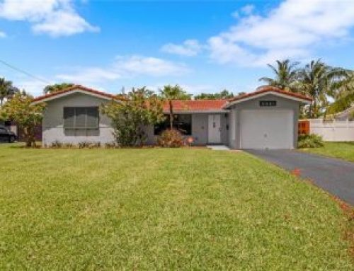 Oakland Park Coral Heights pool home for sale $469,000