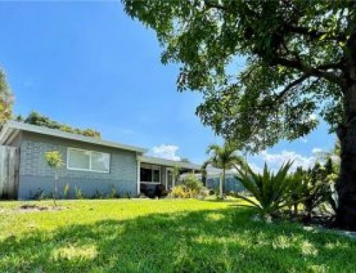 Oakland Park updated 3/2 home for sale $459,000.00